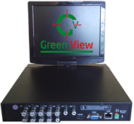 All in One LCD-DVR - 8 Channel